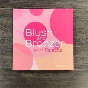 Coastal scents blush and bronzer palette